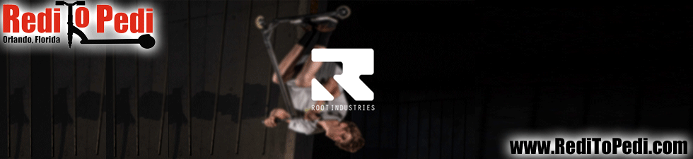You can buy Root Industries scooter wheels and parts in Orlando, Florida.