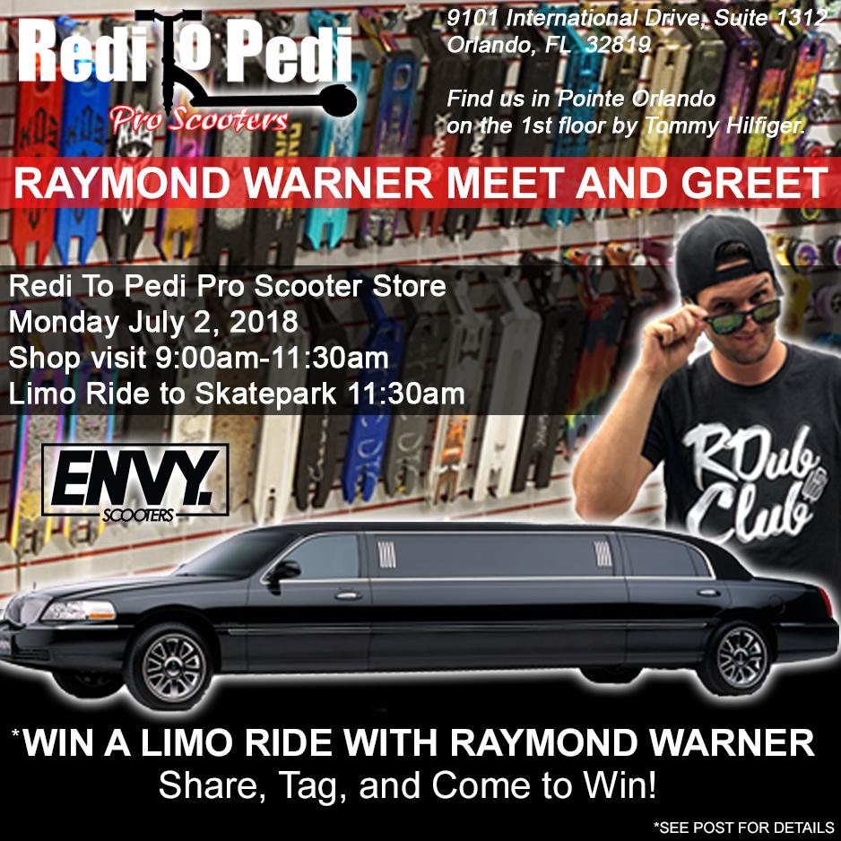 Raymond Warner in Orlando, Florida