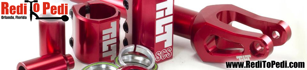 Tilt Scooter Parts available in Orlando, Florida at Redi To Pedi.
